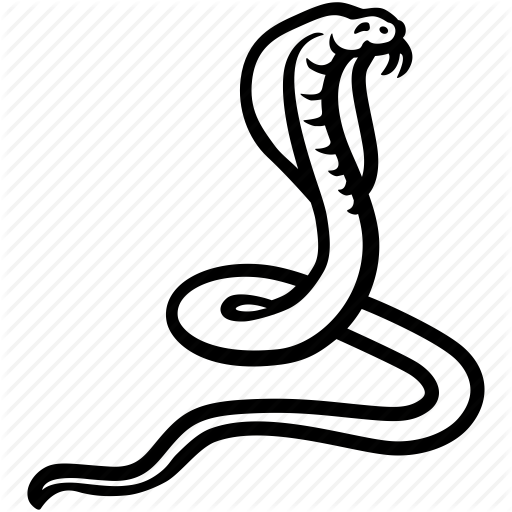 Cobra, Ophidian, Serpent, Snake, Viper Icon