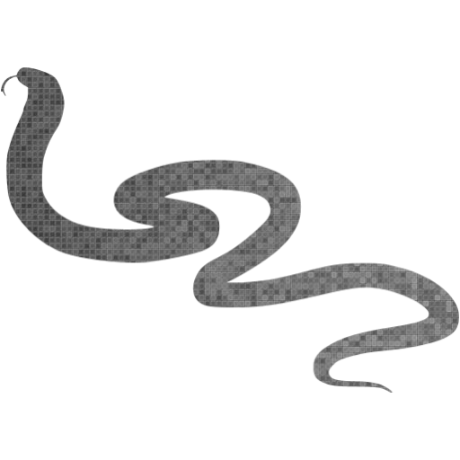 Custom Color Snake Icon