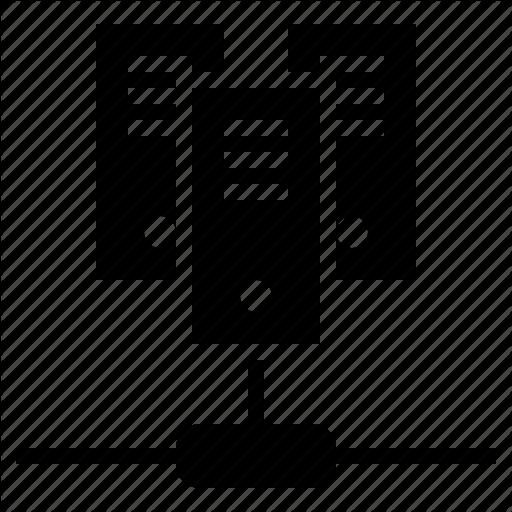 Dedicated Server, Networking, Server, Virtual Server, Web Server Icon