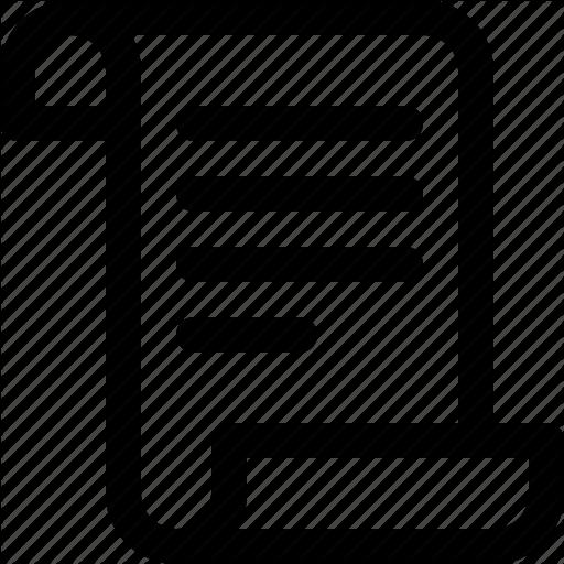 Catalog, Document, Listing, Record, Roll, Script Icon