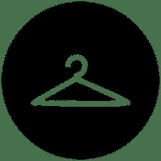 Hanger Round Service Icon