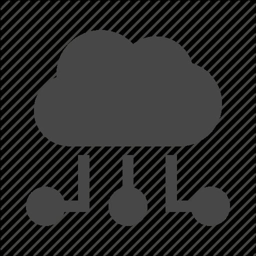Cloud, Database, Hosting, Internet, Server, Service Provider Icon
