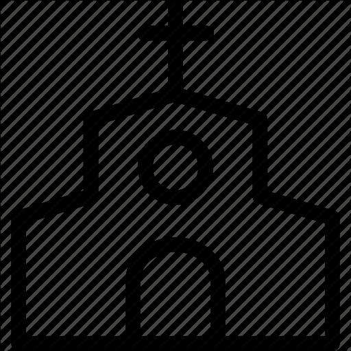 Building, Christian, Church, Religious, Services Icon
