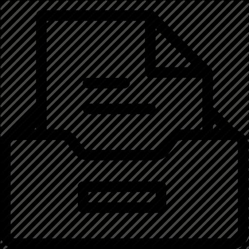 Box, Files, Folders, Holder Icon
