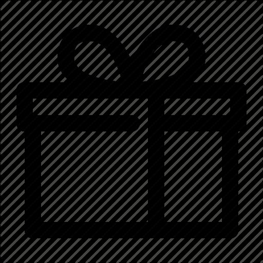 Box, Gift, Wrap Icon
