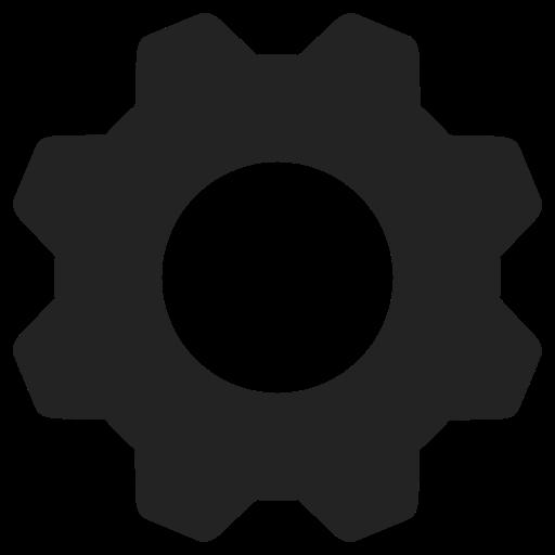 Mixed Settings Glyph Icon