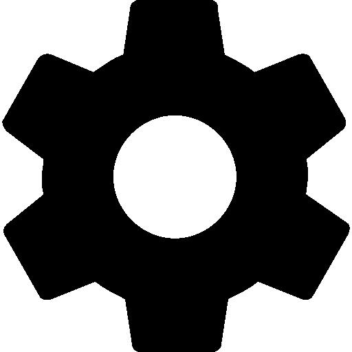 Settings Cogwheel Button