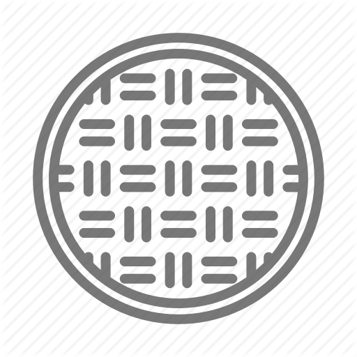 Cover, Drain, Manhole, Metal, Street Icon