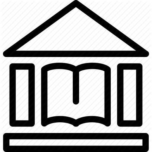 Public Library Icon In Africa