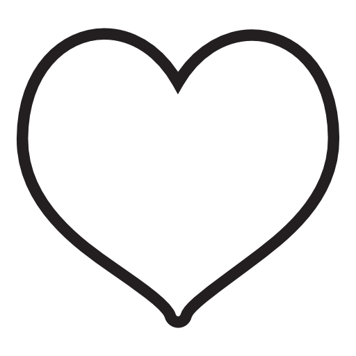 Heart Shape Icon Free Icons Download