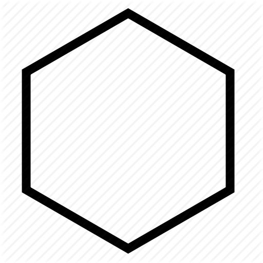 Hexagon, Shape Icon