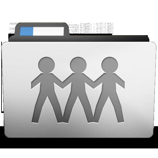 White Sharepoint Icon