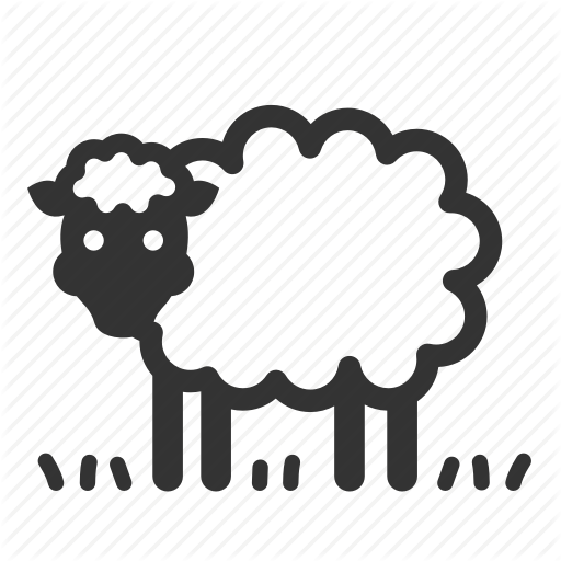 Animal, Cattle, Ewe, Farm, Livestock, Ram, Sheep Icon