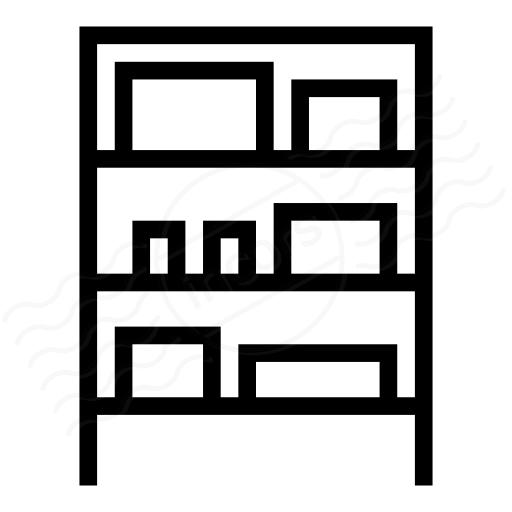 Iconexperience I Collection Shelf Full Icon