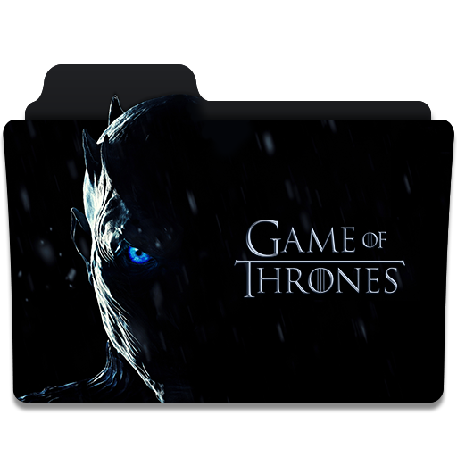 Game Of Thrones Tv Series Folder Icon