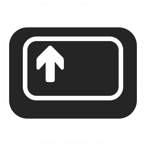 Keyboard Key Shift Icon Iconexperience