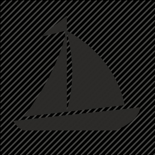 Boat, Sailor, Ship Icon