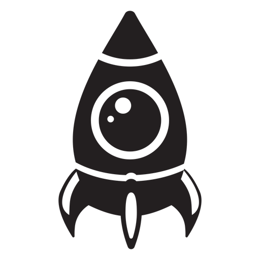 Space Ship Flat Icon