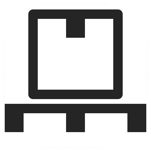 Wooden Pallet Box Icon Iconexperience