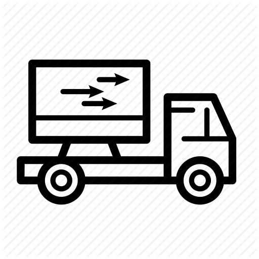 Delivery, Out For Delivery, Product Delivery, Shipment, Shipping Icon
