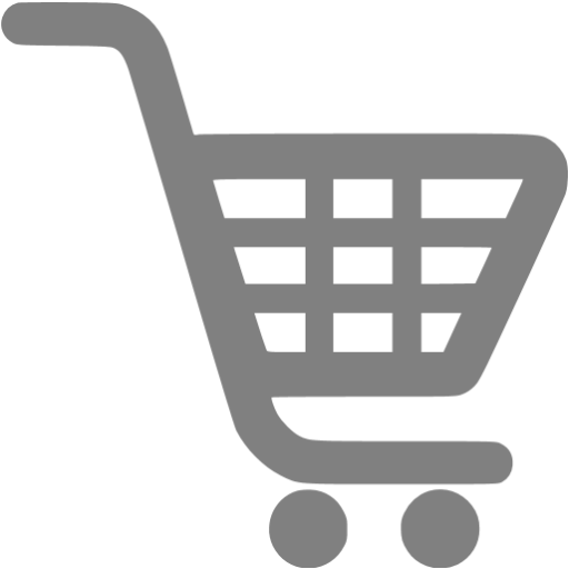 Gray Shopping Cart Icon