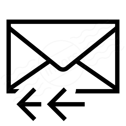 Iconexperience I Collection Mail Reply All Icon