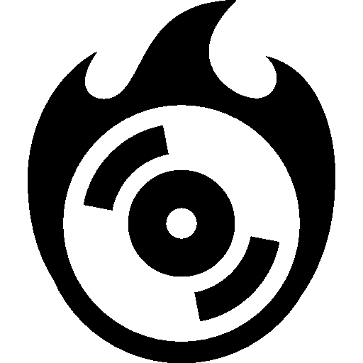 Computer Hardware Burn Cd Icon Windows Iconset