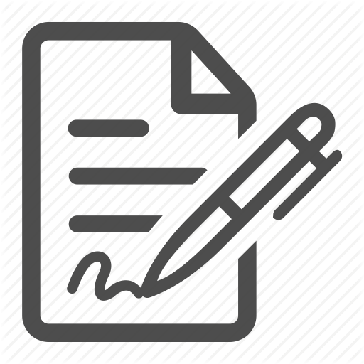 Contract, Document, File, Sign, Signature, Signed, Text Icon