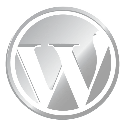 Wordpress Silver Icon