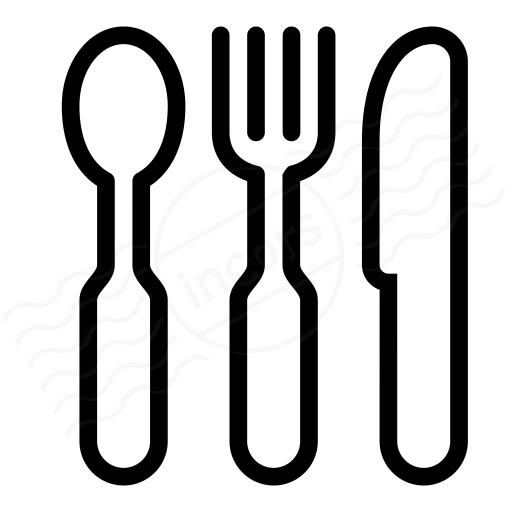 Iconexperience I Collection Knife Fork Spoon Icon