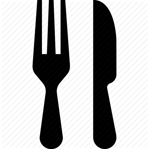 Cutlery, Fork, Knife, Meal, Silverware, Spoon Icon