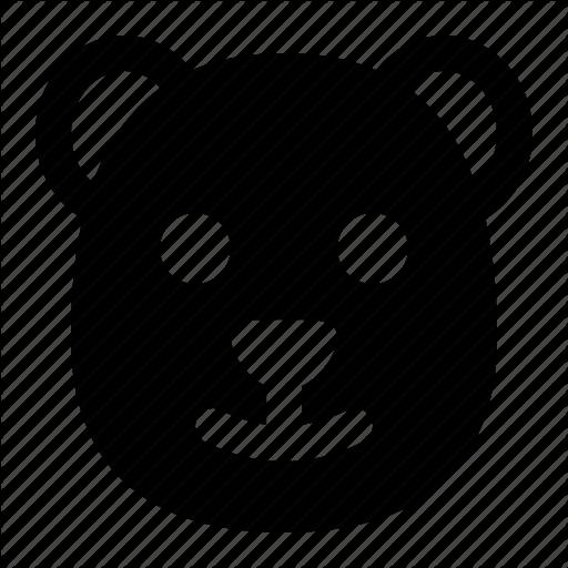 Animal, Bear, Grizzly, Head, Polar, Wild Icon