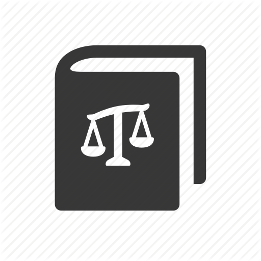 Crime, Government, Justice, Law, Law Book, Raw, Simple Icon