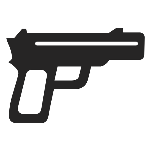 Simple Gun Icon