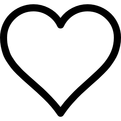 Heart Outline Icons Free Download