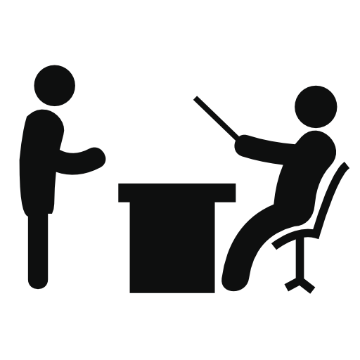Boss Reading A Document Free Vector Icons Designed