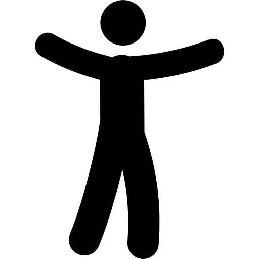 Silhouette Person Standing Icon Images