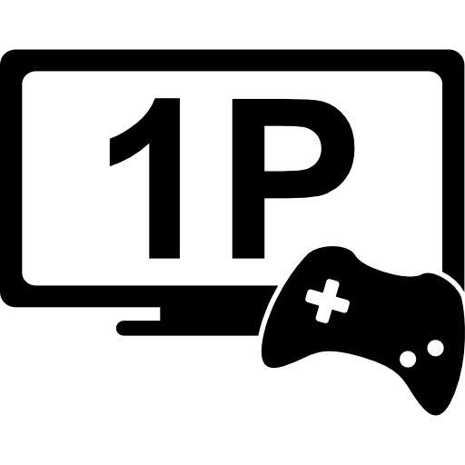 One Player Game Symbol