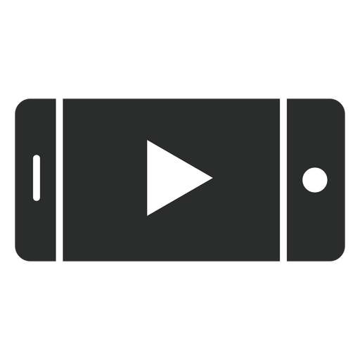 Smartphone Player Flat Icon