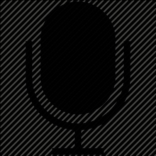 Mic, Microphone, Retro, Siri, Speaker Icon