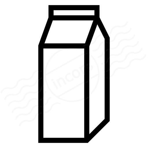 Iconexperience I Collection Milk Icon