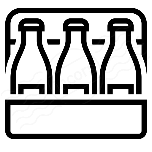 Iconexperience I Collection Sixpack Beer Icon
