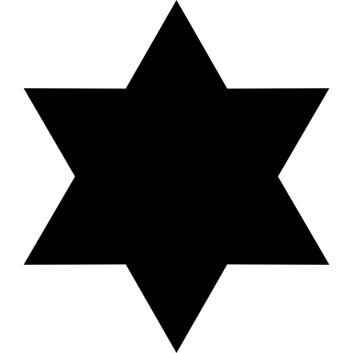 Six Pointed, Shapes, Geometry, Star Icon
