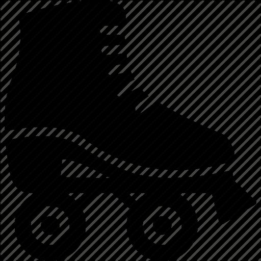 Figure Skate, Race, Roller, Rollerskating, Skate, Skates, Skating Icon