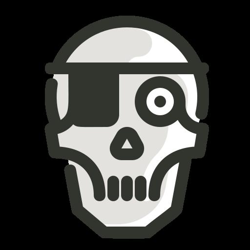 Halloween, Pirates, Skeleton, Skull, Spooky, Skull Icon Free