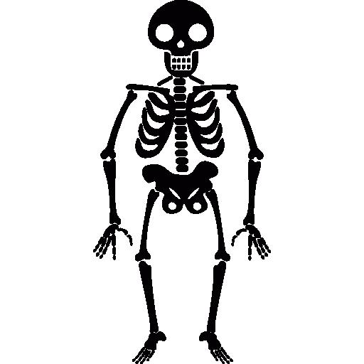 Halloween Skeleton Icons Free Download