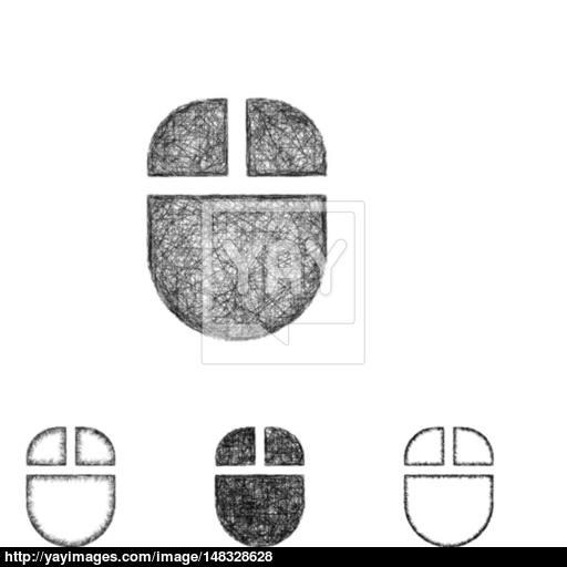 Wireless Mouse Icon Set