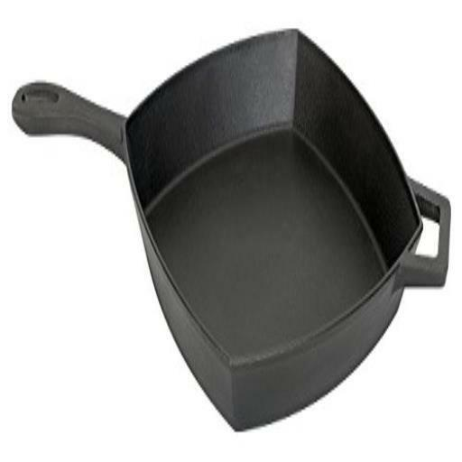 Bayou Classic Cast Iron Square Skillet Black Cast Iron Us
