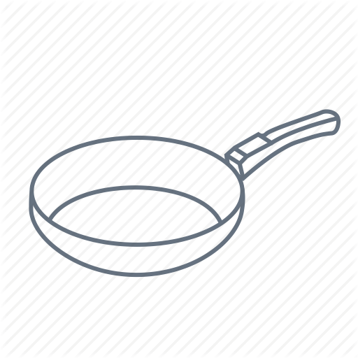 Broil, Cook, Fry, Grill, Kitchen, Pan, Skillet Icon