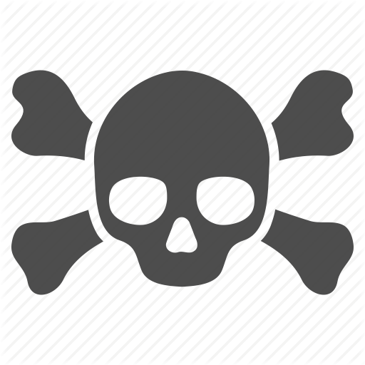 Skull And Crossbones Icon Png Png Image